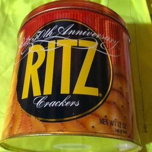 Ritz Crackers metal containers 50 Anniversary